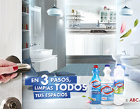 En 3 pasos limpias tus todos espacios