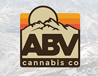 ABV Cannabis Company - Brand & Logo Design