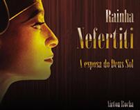 Rainha Nefertiti - Capa de Livro - Acadêmico