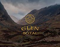 Glenbotal – Branding & UI/UX design