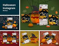 Halloween Instagram Mockup