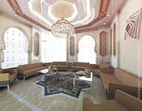 WOMEN SITTING INTERIOR, RIYADH , KSA