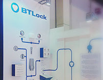 BTLOCK EXHIBITION STAND