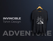 Tshirt : Invincible NGO