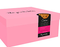 The Pink Box Label and Packaging