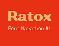 Font Marathon #1 - Ratox