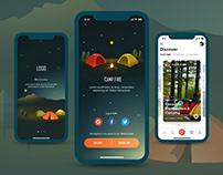 Camping Broadcasting App