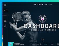 Dashboard ENGIE - Tennis au Féminin