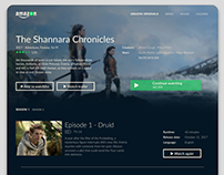 Amazon Prime Video Redesign