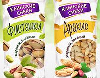 KLINSKI SNACKS roasted nuts design concepts