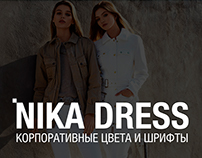 Nika Dress branding