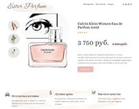 Site on WordPress&Elementor Ester Perfum
