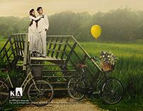 Pre-Wedding Photo Manipulations