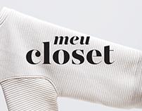 Meu Closet • Visual Identity