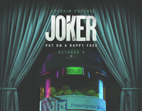 Joker Movie Poster // Contest Entry