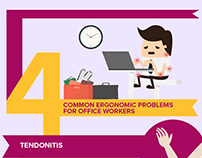 Medlife-Ergonomic Problems for Office Workers-Infograph