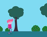 Flat Character Walk Cycle