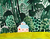 A House in Forest