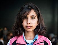 Child Refugees for the Wall Street Journal
