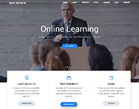 UI for a Online Teaching Website