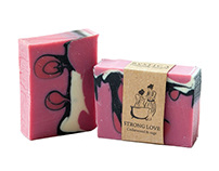 Natural Soap Packaging - Cosmetic Label Design
