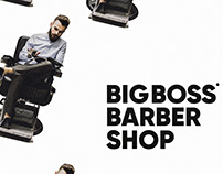 """Big Boss Barbershop"" Posters"