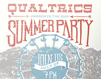 2015 Qualtrics Summer Party Poster