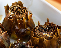 Food Photography - Artichokes