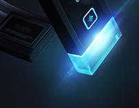 Fitbit Glare Active