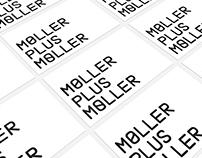 Møller Plus Møller logotype