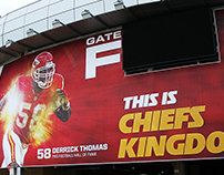 Arrowhead Stadium Gate Graphics