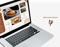 WEB DESIGN & FLYER   Restaurant Vintage