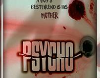 Psycho Mock up poster
