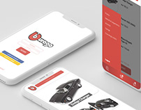 Bburago // Shop App Design