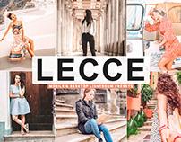 Free Lecce Mobile & Desktop Lightroom Presets