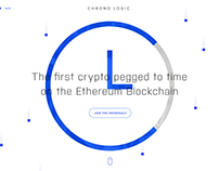 ChronoLogic - The First Crypto Pegged to Time