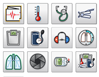 custom medical icons