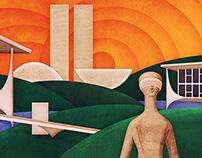 ANAMATRA - Ilustração para capa da agenda 2015