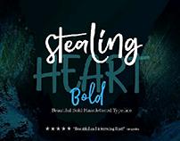 STEALING HEART BOLD typeface