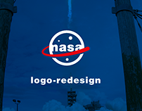 NASA Logo Redesign [University Project]