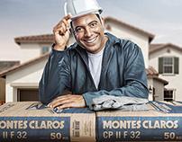 Anúncio Cimento Montes Claros