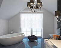 Design light bathroom | L'viv