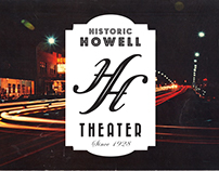 Historic Howell Theater Branding