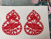 葫芦生莲,福长