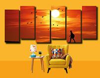 Wall Frame for Living Room