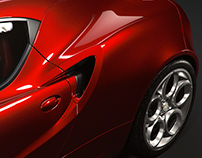 Alfa Romeo 4C (studio)