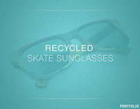 Recycled skate sunglasses