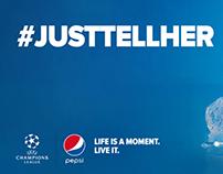 #JUSTTELLHER