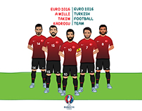 Euro 2016 Milli Takım Kadrosu / Turkish Football Team