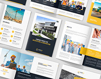 BuilderArch – Construction Company Profile Bundle